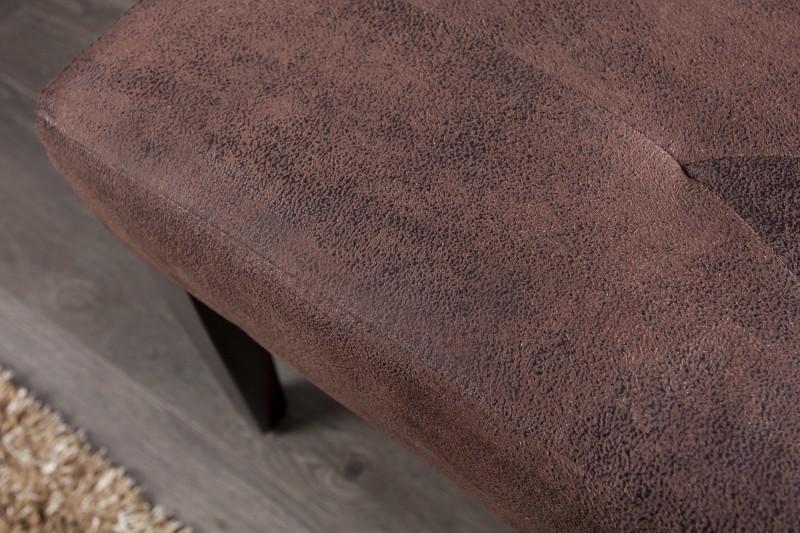 Lavice Cambridge 90cm x 35cm - vintage hnědá / 30158