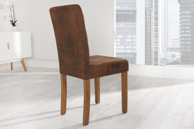 Jídelní židle Parma - hnědá / 35254 - 4ks skladem