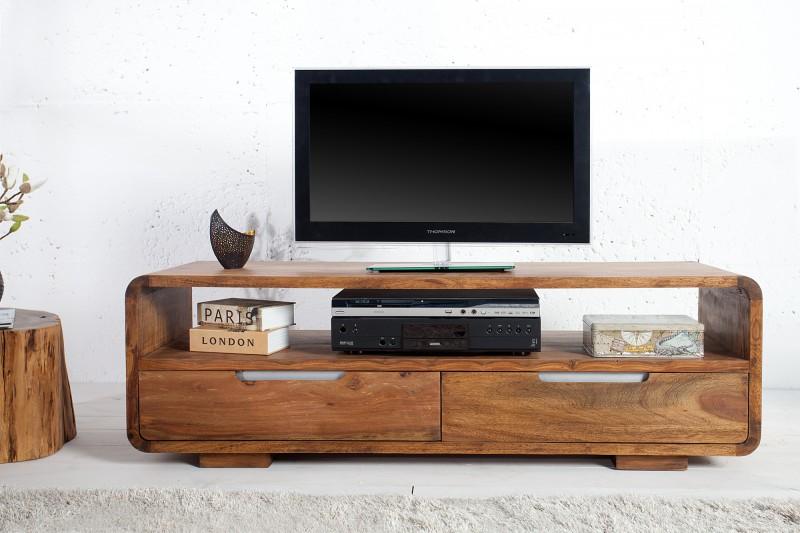 Televizní stolek Goa 130cm x 45cm - Sheesham / 35869