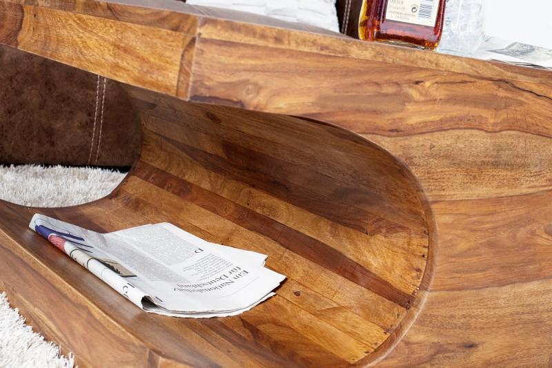 Konferenční stolek Cubus 120cm - Sheesham / 35898