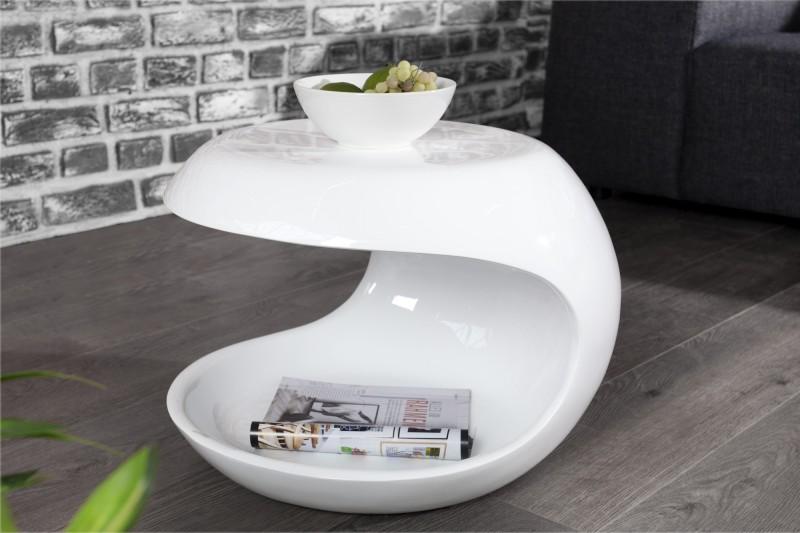 Konferenční stolek Organic Living - bílý / 35569