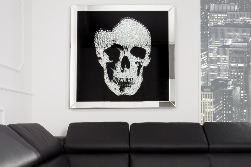 Obraz Lebka 100x100cm / 35041