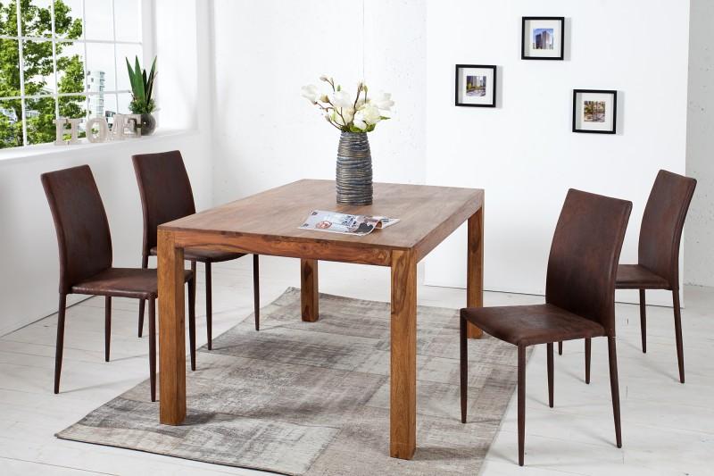 Jídelní židle Doris - starožitná hnědá / 35643