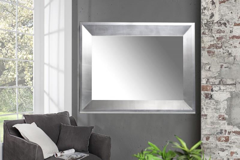 Nástěnné zrcadlo Barca 110cm - stříbrné / 35741