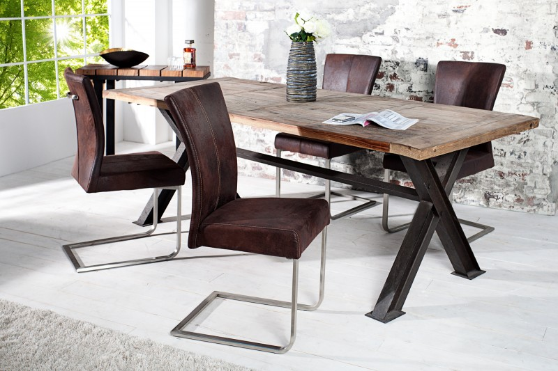 Konzolové židle Samson dark coffee w. Handle / 35767