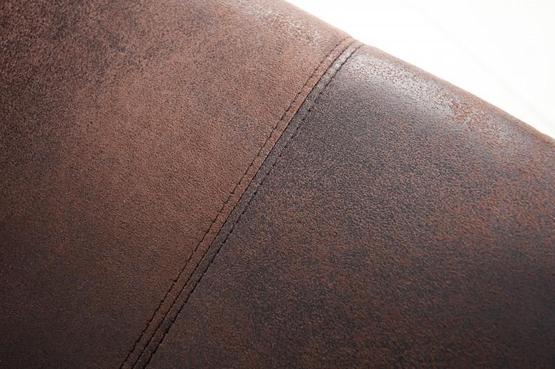 Samonosná židle Samson loketní opěrka tmavá káva / 35787
