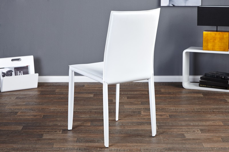 Jídelní židle Doris - bílá / 11565