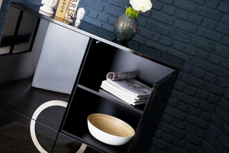 Skříň Zen 100cm x 120cm - černá / 35607