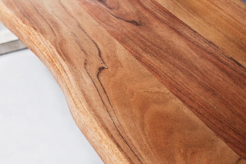Mamutí lavička 160cm akát 35mm PŘÍRODA