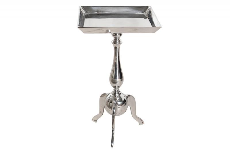 Odkládací stolek Jardin 55cm - stříbrná / 35725