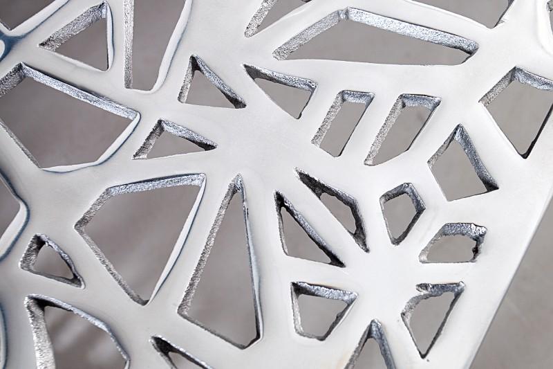 Couchtisch Abstract 75cm silber 35722 4378
