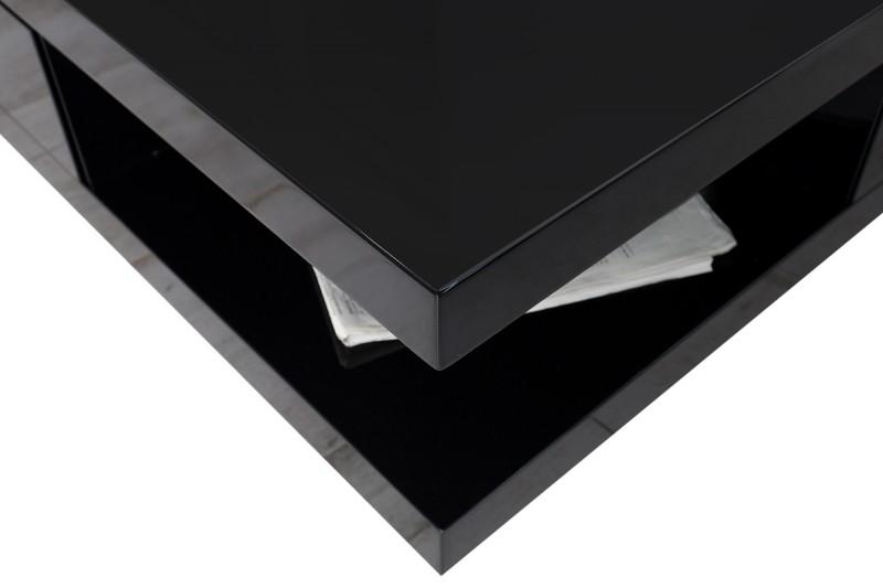Couchtisch Function schwarz m 2 Schubladen 36187 4798