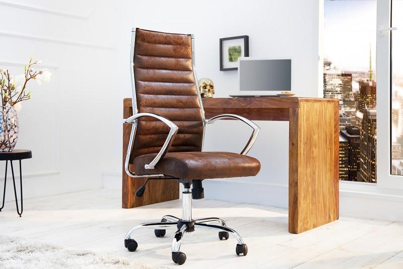 Kancelářská židle Cerrado - hnědá / 36105