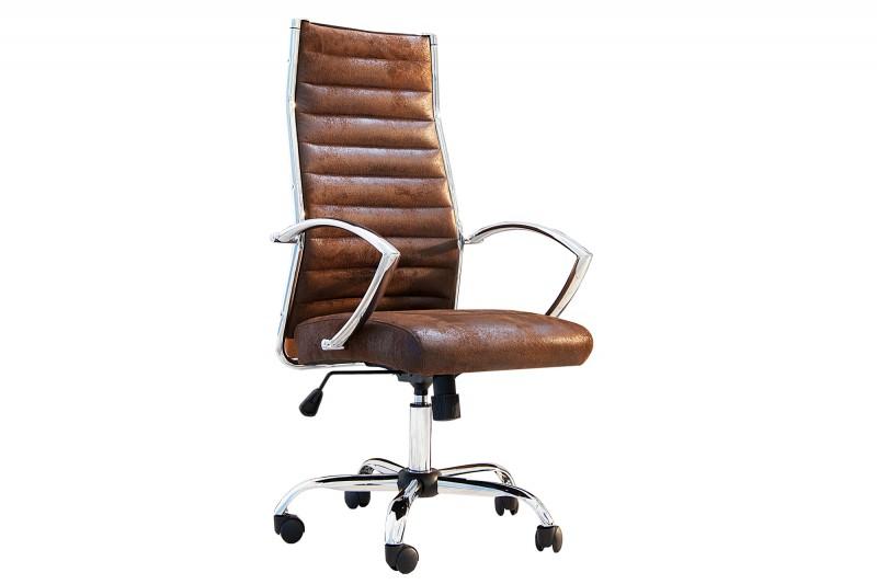 Kancelářská židle Big Deal - hnědá / 36105