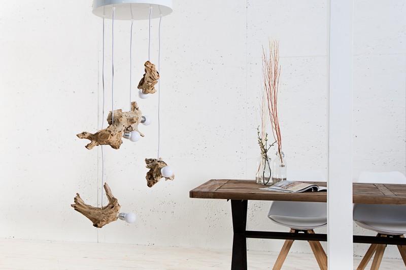 Závěsná lampa Hypnotic - naplavené dřevo / 36214