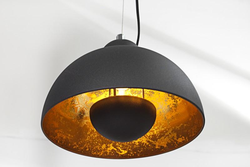 h ngeleuchte studio 3 schwarz gold 36228 4717. Black Bedroom Furniture Sets. Home Design Ideas