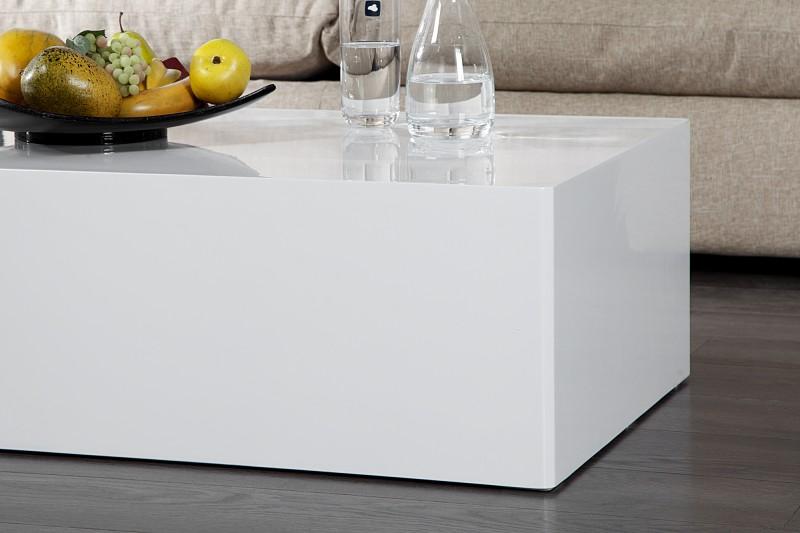 Couchtisch Monobloc XL 100cm weiss 36316 4932