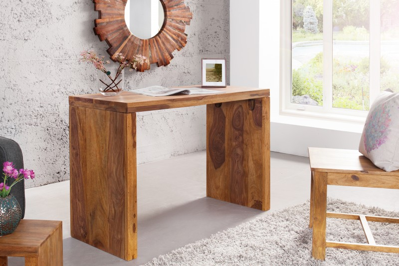 Pracovní stůl Grande 100cm x 40cm - Sheesham / 36330