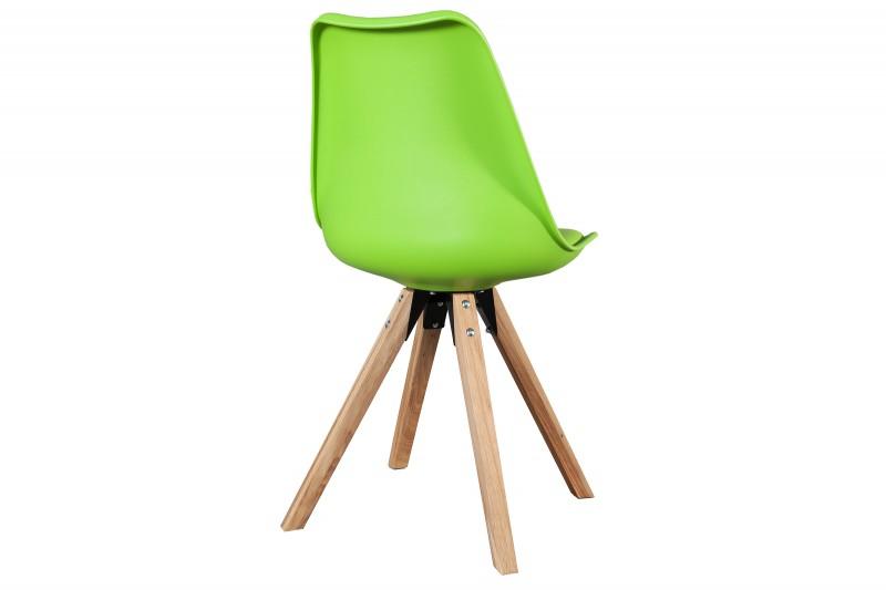 Židle Scandinavia vápno masivní dřevo / 36207