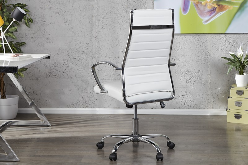 Kancelářská židle Big Deal - bílá / 11061