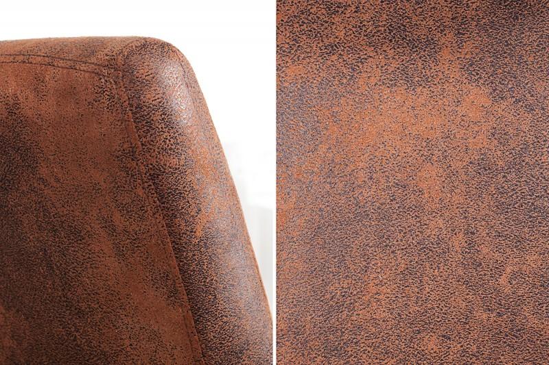 Casa lehká kávová židle w. Loketní opěrka / 36326