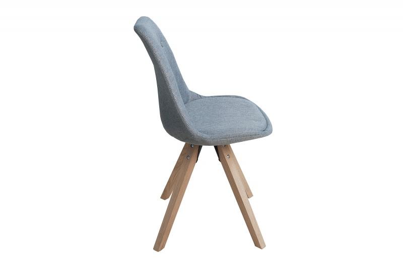 Jídelní židle Scandinavia Wood - šedá   / 36273