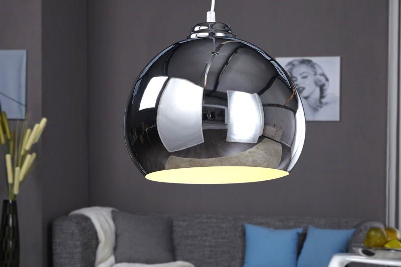 Závěsná lampa Violet - chrom / 8605