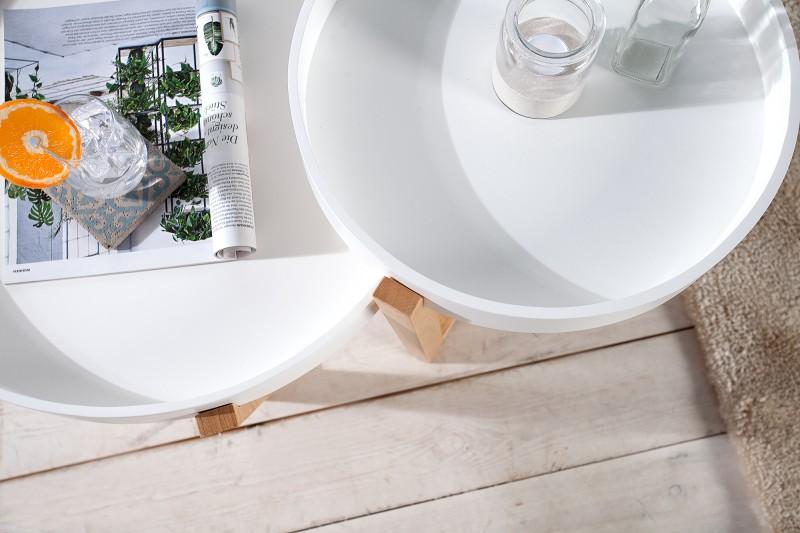 Konferenční stolek Scandinavia - bílý / 36436