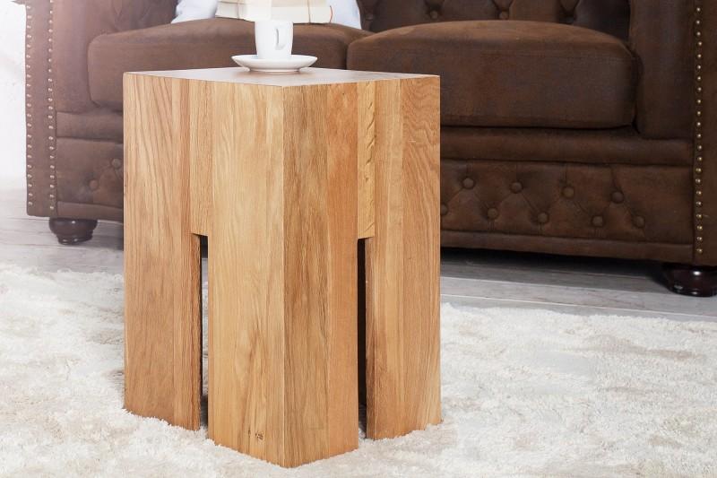 Zámecká stolička 45 cm divoký dub / 36439
