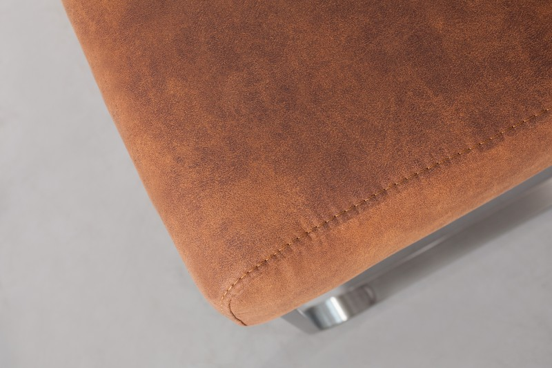 Konferenční židle Comfort Vintage světle hnědá / 36543