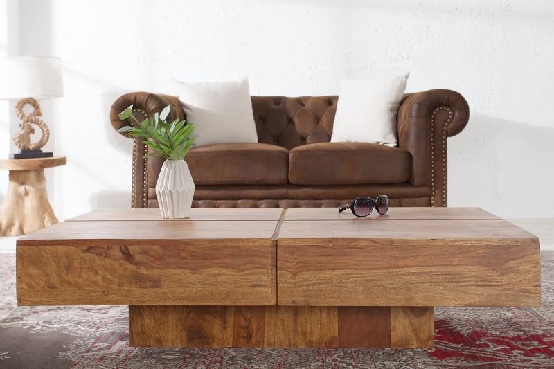 Konferenční stolek Bolt 110cm Sheesham / 36789