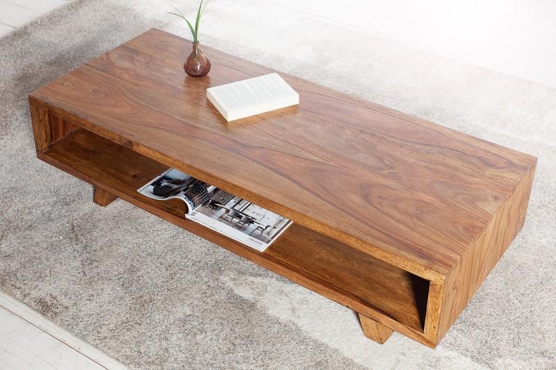 Konferenční stolek Bruce 110cm x 45cm - Sheesham / 36790