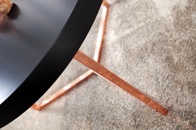 Konferenční stolek Modular 60cm - černá, měď / 36719