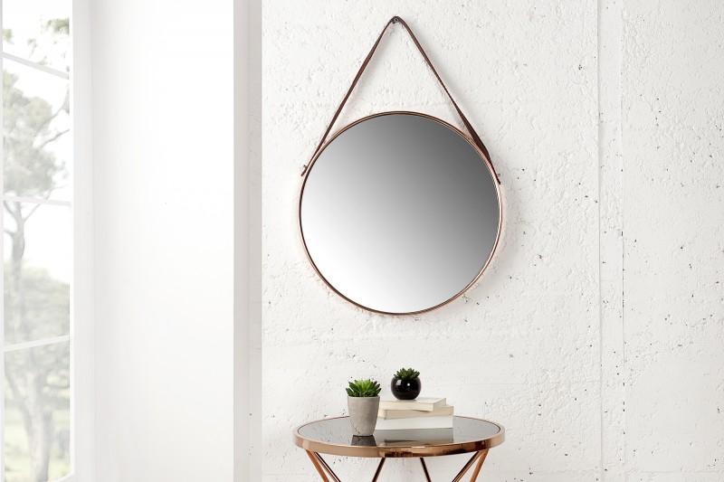 wandspiegel portrait 45cm kupfer 36694 5003. Black Bedroom Furniture Sets. Home Design Ideas
