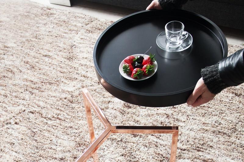 Konferenční stolek Modular 40cm - černý, měď / 36716