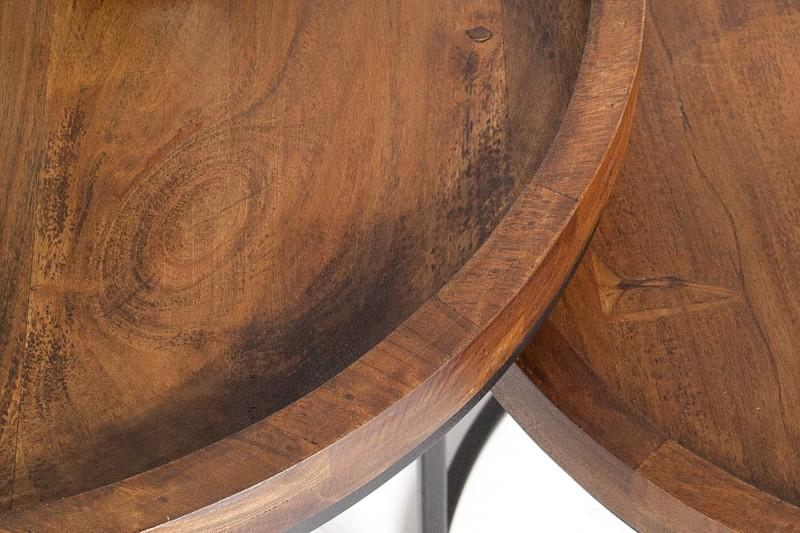 Konferenční stolek Dorado 2ks - přírodní akát / 36743