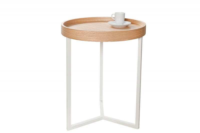 Konferenční stolek Modular 40cm - dub, bílá / 36717