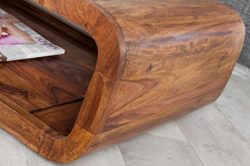 Konferenční stolek Curved II 100cm - Sheesham / 37204
