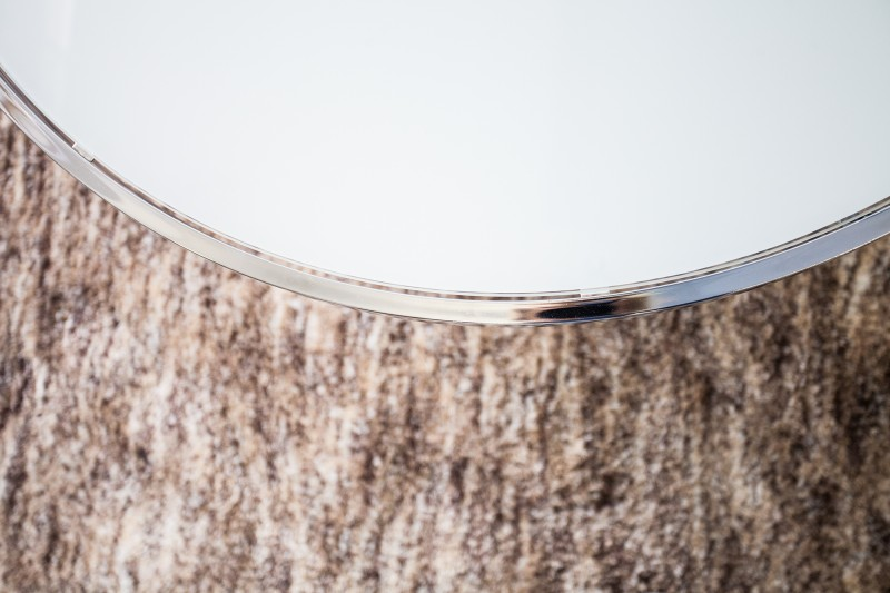 Couchtisch Orbit 85cm chromweiss 36714 5011