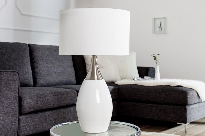 Stolní lampa Carla 60cm - bílá / 37006