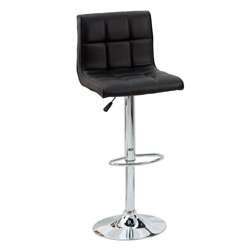 Barová židle Modena 90-115cm černá / 36918