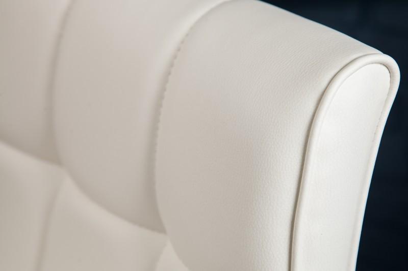 Barová židle Modena 90-115cm bílá / 36919