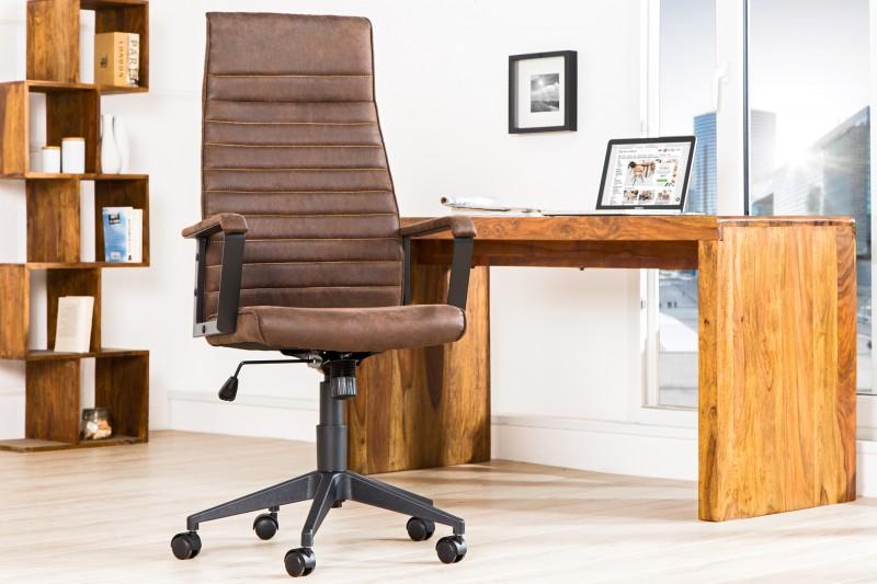 Kancelářská židle Parma - hnědá / 37075