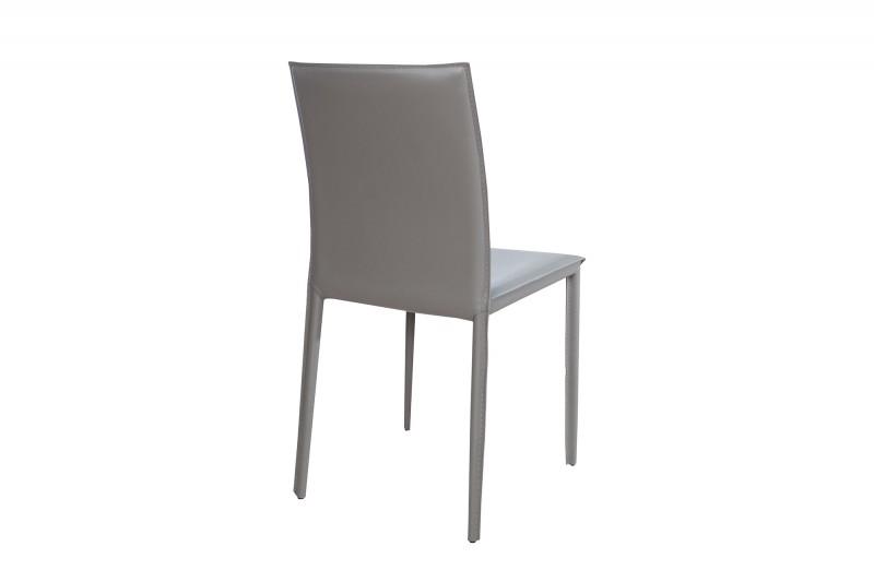 Jídelní židle Doris - šedá /37153