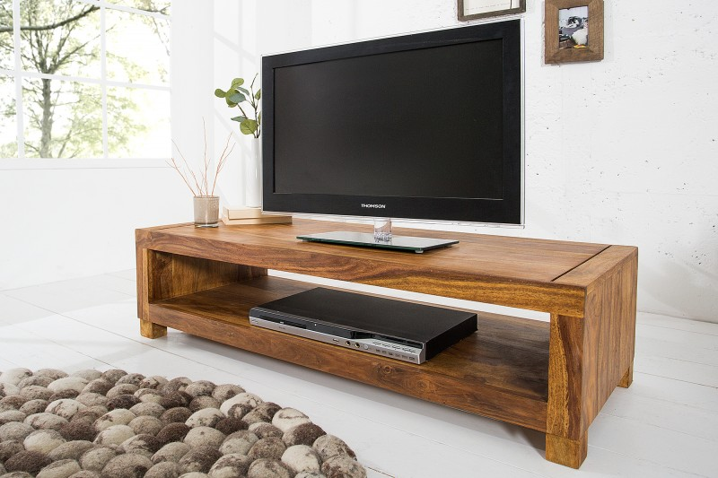 Televizní stolek Hidalgo II 110cm x 30cm - Sheesham / 37203