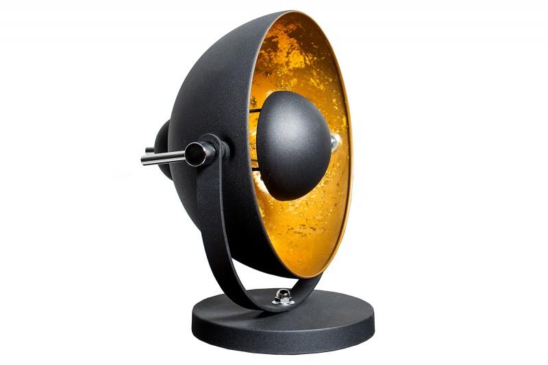 Stolní lampa Studio 40cm černé zlato / 37140