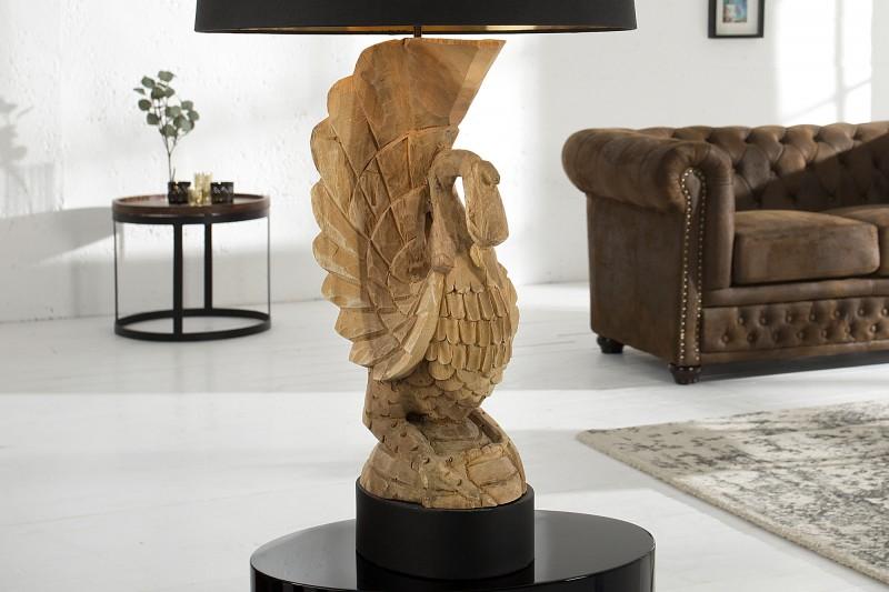 Stolní lampa Arianna 90cm - akácie / 36691