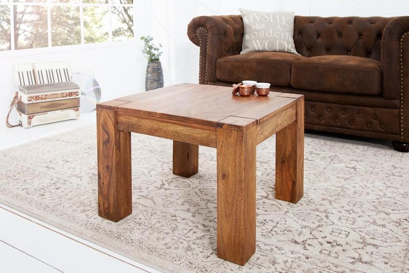 Konferenční stolek Fortaleza 60cm x 60cm - Sheesham / 16910