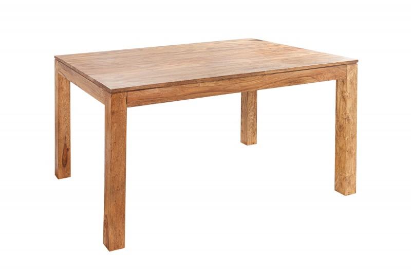 Jídelní stůl Hidalgo 140cm x 90cm -Sheesham / 20601