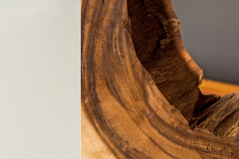 Stolní lampa Cycle 60cm - naplavené dřevo / 36972